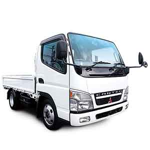 3t平車両(鋼材/工場配送)