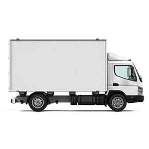 3t冷蔵車両<br>コンビニ店舗ルート配送