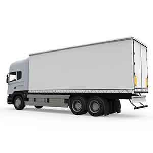 大型冷蔵車両<br>食品センター中距離配送