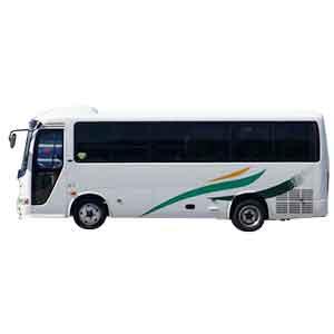 中型観光バス/短期高校球児・監督の送迎