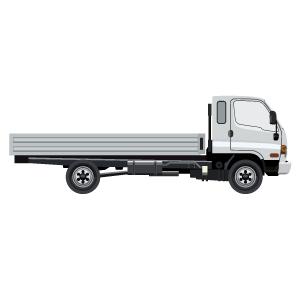 4t平車両(ネジ製品/工場等へ配送)
