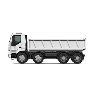 大型平車両リサイクル金属や鉱石の配送