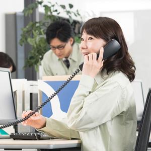 事務員(受付・PC入力・電話対応)