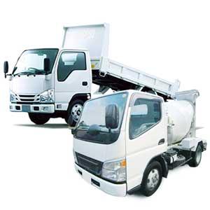 3tミキサー・3tダンプ車両建築資材配送ドライバー
