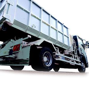 2t・4tアームロール車両<br>産業廃棄物回収ドライバー